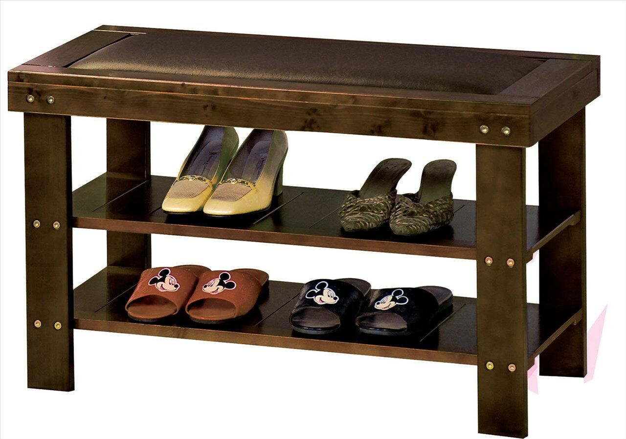 【石川家居】EF-424-1 風采皮面實木穿鞋櫃 (不含其他商品) 需搭配車趟