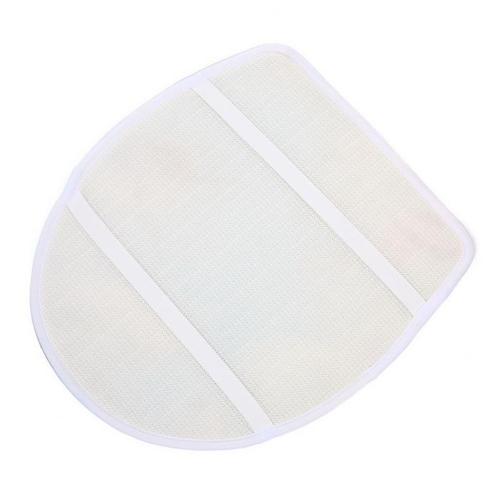3Pcs/Set Bathroom Non-Slip Blue Shark Pedestal Rug Lid Toilet Cover Bath Mat 5