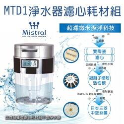 美寧MTD1淨水器濾心耗材組
