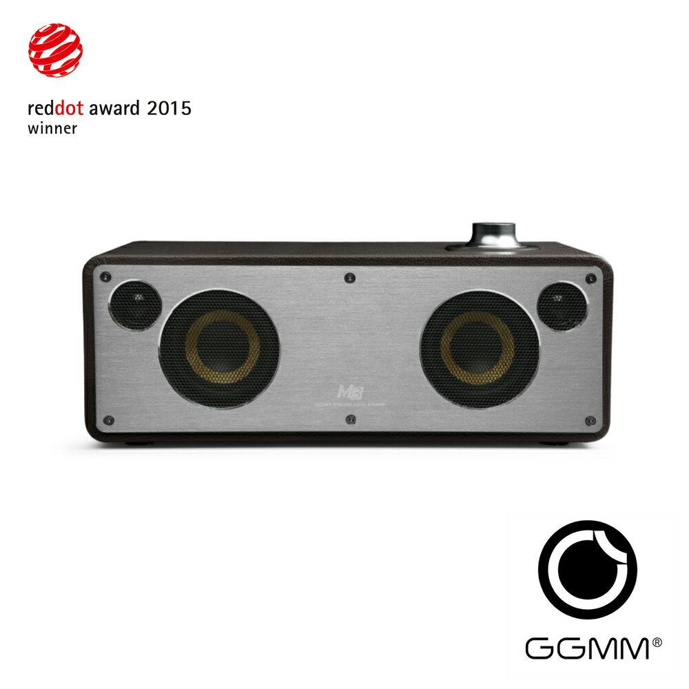 【迪特軍3C】GGMM M3 wifi&藍牙無線音箱-咖啡色