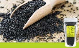 健康時代 100%天然熟黑芝麻粒 180g/包
