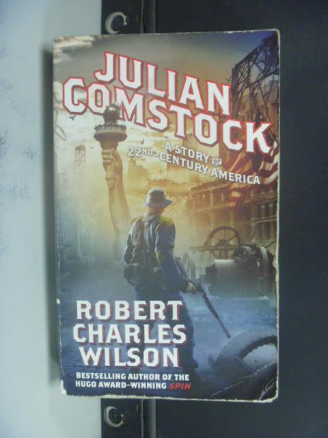【書寶二手書T4/原文小說_GEE】Julian Comstock_Robert Charles