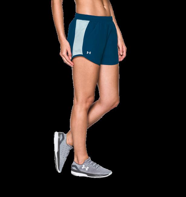 《UA出清5折》Shoestw【1297125-997】UNDER ARMOUR UA服飾 慢跑短褲 運動褲 湖藍水藍 女生
