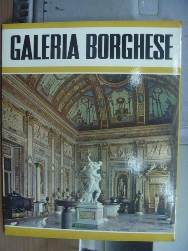 【書寶二手書T4/藝術_POB】Galeria Borghese