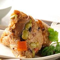 端午節粽子、人氣肉粽推薦【明華食品】組合特惠粽 (傳統南部粽+杏鮑菇粽各5入)。