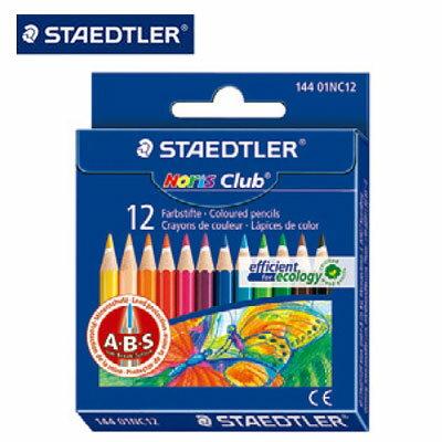 施德樓 MS14401NC12 快樂學園 迷你油性色鉛筆 12色入/盒