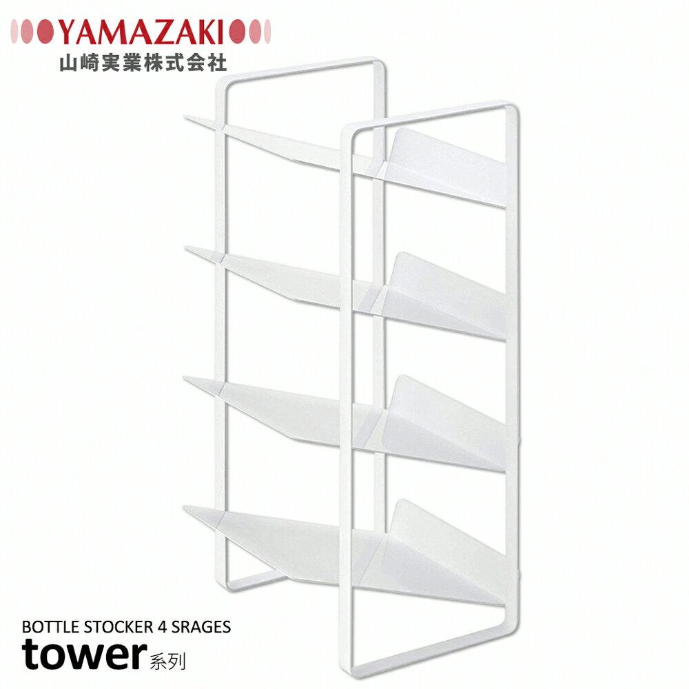 日本【YAMAZAKI】tower水槽下置物架(白) 1