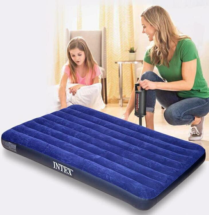 充氣床 美國INEX充氣床墊家用雙人單人戶外便攜午休床折疊沖氣床氣墊床