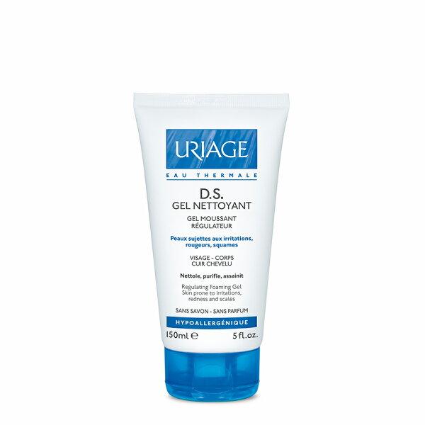 Uriage優麗雅DS髮膚控油潔淨凝膠150ML