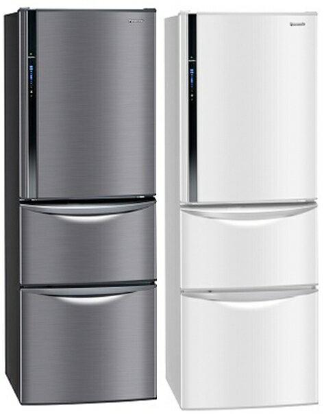 (06/30前領券再折500元)【Panasonic 國際牌】385公升變頻三門冰箱 NR-C387HV-W(瑭瓷白)