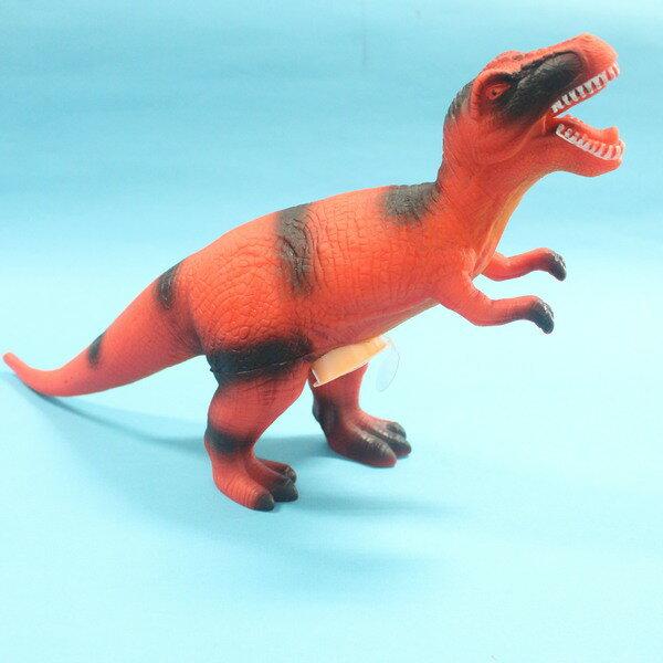 恐龍公仔 暴龍 聲效恐龍 仿真恐龍模型 侏羅紀恐龍玩具^(會叫.全身軟膠^) 一隻入^~促