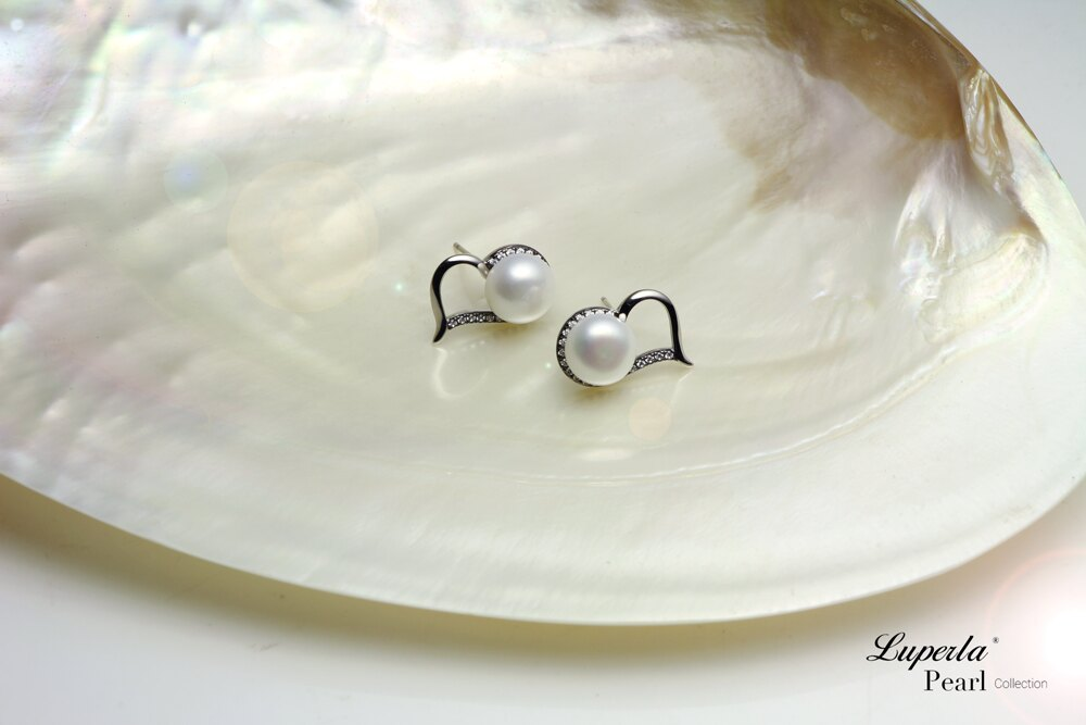 大東山珠寶 唯愛珍心 925純銀珍珠耳環 純白色 4