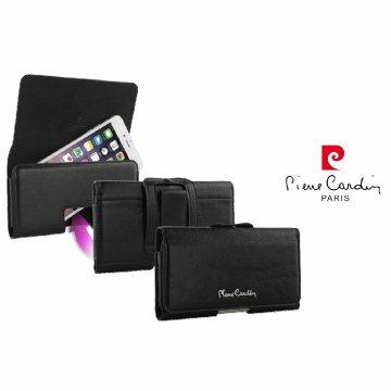 *╯新風尚潮流╭* 皮爾卡登 iPhone 6 6s Plus 真皮手機殼 5.5吋 腰掛保護殼皮套 PCS-K03-L