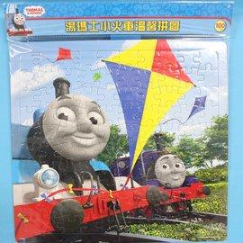 湯瑪士小火車拼圖 100片拼圖 TQ009 幼兒卡通拼圖(大方形/加厚)MIT製/一個入{促120}~正版授權~