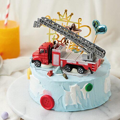 消防小勇者  8吋【PATIO帕堤歐】造型蛋糕/生日蛋糕/卡通蛋糕