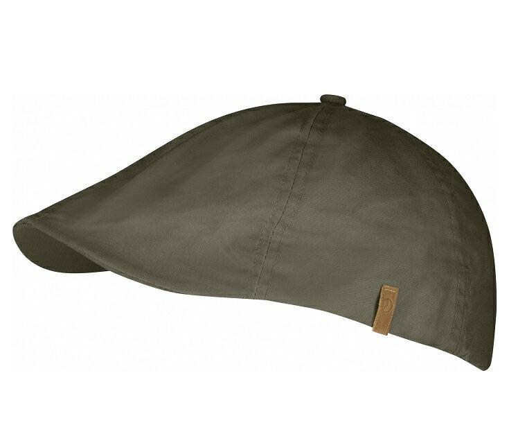 Fjallraven 瑞典北極狐 Ovik 復古狩獵帽/獵裝帽/軍裝遮陽帽 77274 246 棕綠