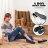 格子舖*【ANW2318】MIT台灣製 簡約素面皮革 金屬車線設計 圓頭平底包鞋 舒適豆豆鞋 3色 - 限時優惠好康折扣
