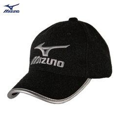 獨家 52JW757207(黑X炭灰)GOLF高爾夫帽 毛料混紡【美津濃MIZUNO】
