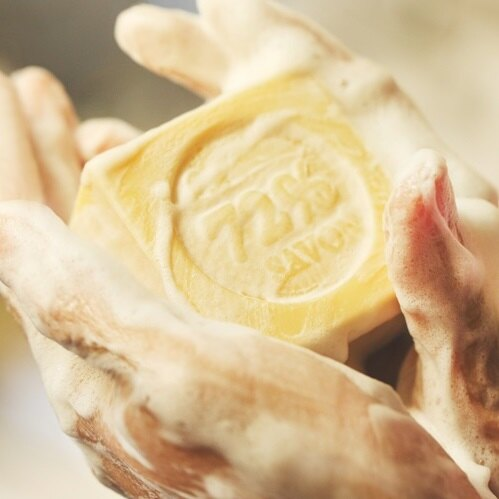 《雪文洋行》格拉斯玫瑰園(法國玫瑰)72%馬賽皂-110g±10g 2