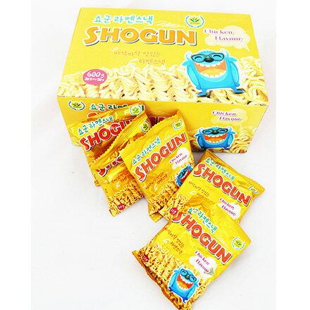[敵富朗超市]韓國 SHOGUN ~怪獸香脆雞汁點心麵(30包/盒) 0