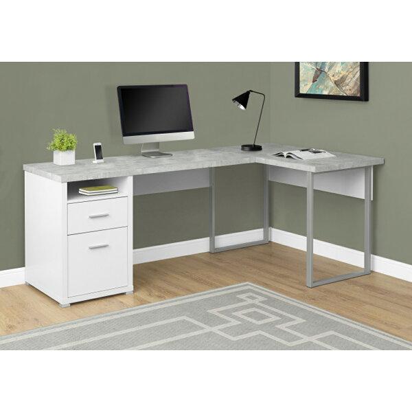 康迪仕摩登L型書桌DIY組合家具