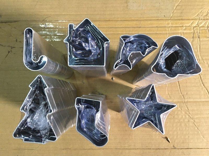 限量特價【鋁合金卡通餅乾模CA171】NO135烘焙模具慕斯圈水果切模薑餅模聖誕節用品