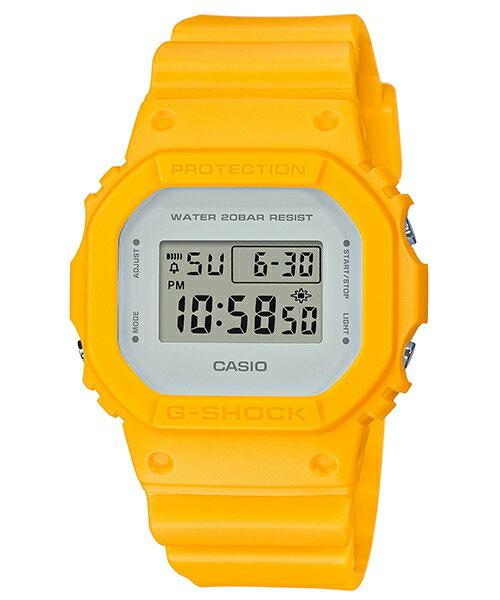 CASIO G-SHOCK DW-5600CU-9 復古簡約雙色數位腕錶/48.9*42.8mm