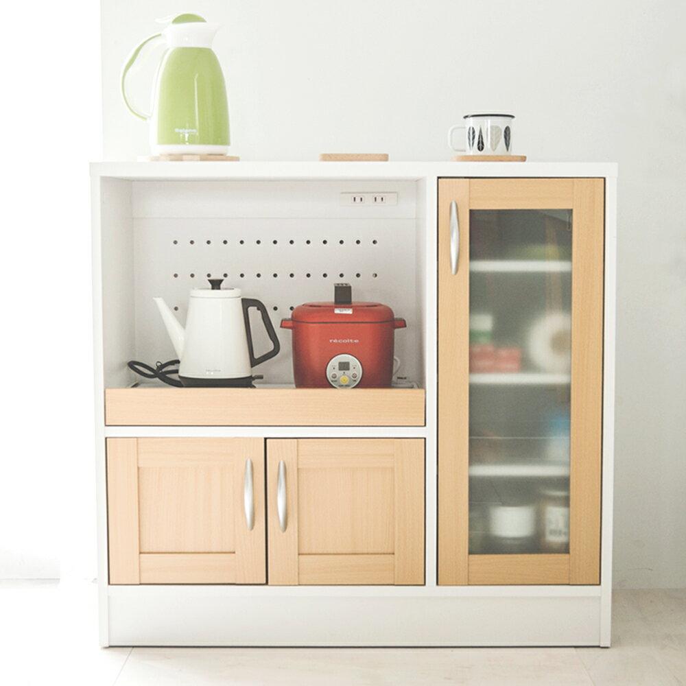 廚房收納 / 餐櫥櫃 / 電器櫃 夏洛電器收納廚房櫃(三色) 完美主義【N0057】 0
