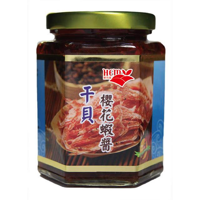 【永芳料理醬】鮮而美櫻花蝦干貝醬(東港櫻花蝦) 270g