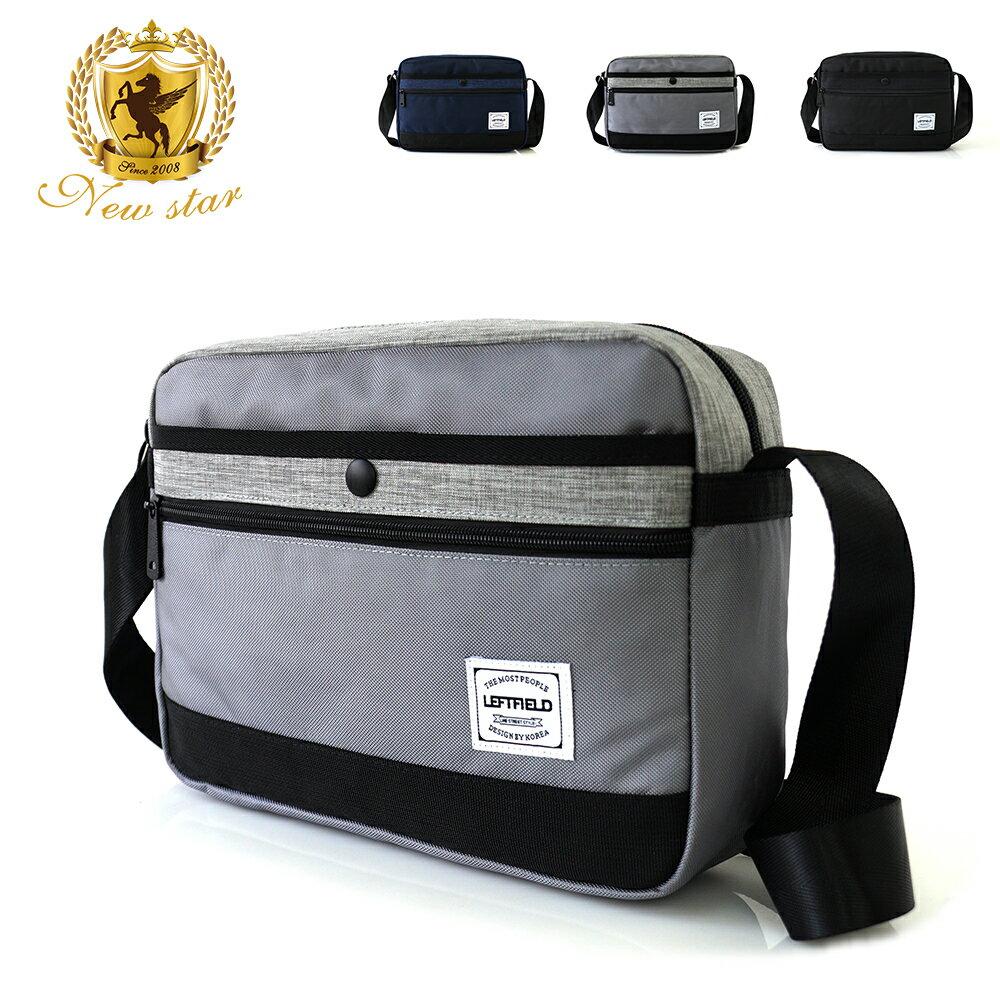 側背包 時尚拼接防水前口袋斜背包包 porter風 NEW STAR BL135 0
