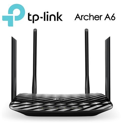 TP-Link Archer A6 AC1200 無線 MU-MIMO Gigabit 路由器 - 限時優惠好康折扣