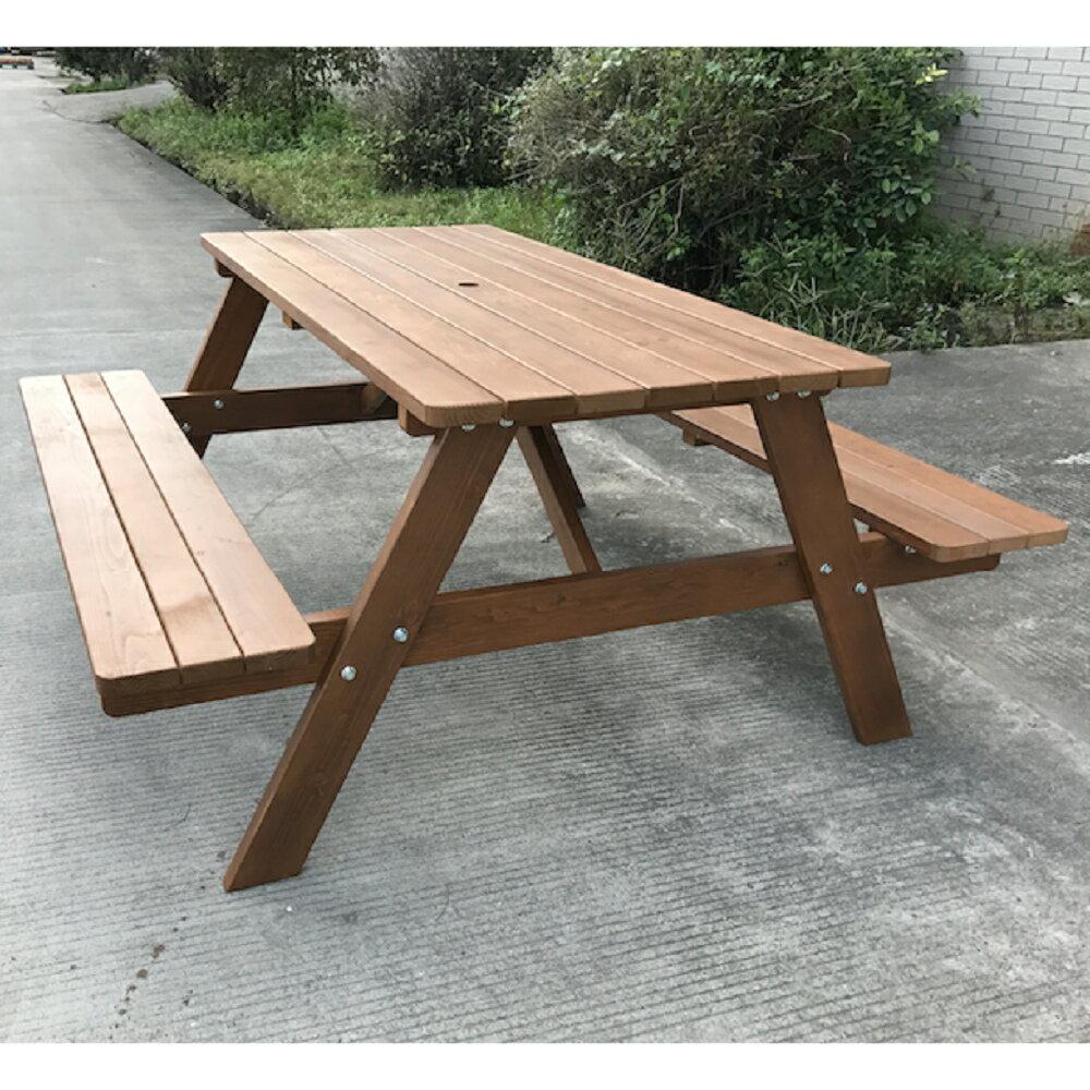 【BROTHER兄弟牌】五尺加拿大鐵杉啤酒桌