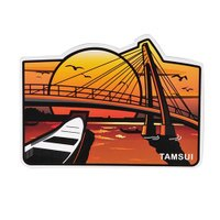 【MILU DESIGN】+PostCard>>台灣旅行明信片-淡水夕陽/明信片(台北景點/淡水漁人碼頭/TAIPEI) 0