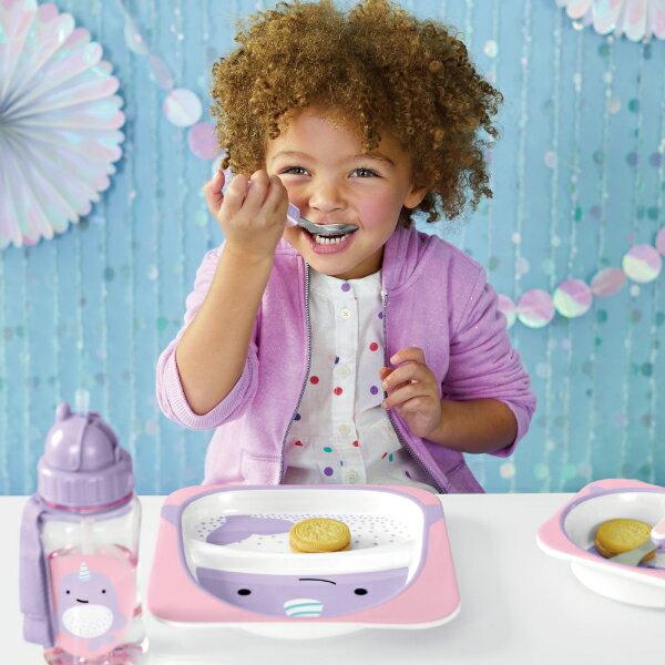 美國SKIP HOP 可愛動物園餐具叉及匙 / 叉匙組 (2款可選) 4