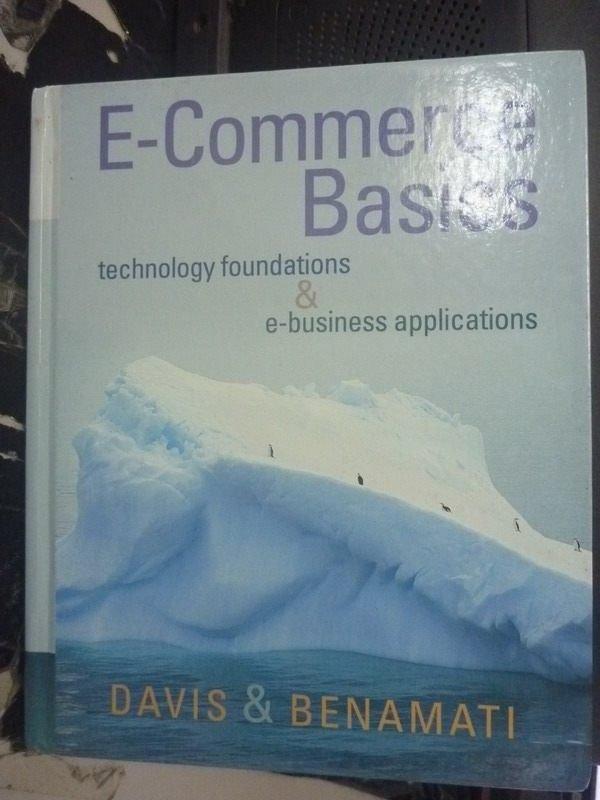 【書寶二手書T8/大學資訊_WGP】E-COMMERCE BASIC