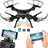Drone Altitude Hold 2.4G 6-Axis FPV 720P HD Live Video WIFI Camera RC Voice Command Quadcopter, 2 Batteries & Power Bank 1