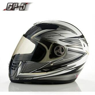【頑騎】免運費【GP-5】全罩式安全帽 720烈風 雙層鏡設計 台灣製造 共5色