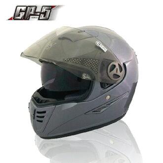 【頑騎】免運費【GP-5】全罩式安全帽 720素色 雙層鏡設計 台灣製造 共4色