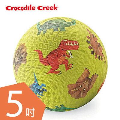 【悅兒園婦幼生活館】美國 Crocodile creek 5吋兒童運動遊戲球/足球-恐龍世界(13cm)