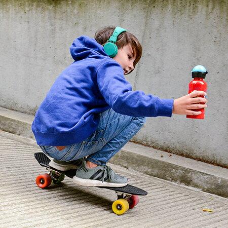 瑞士 SIGG 兒童系列寬口鋁瓶 0.6L 藍色 水壺 3