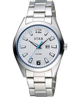 STAR時代錶 9T1602-231S-W 摩登時尚腕錶/白面39mm