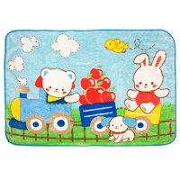 彌月寢具用品推薦到Baby City 火車熊盒裝童毯-藍/防風/冷氣毯/彌月禮 (精美禮盒裝,送禮自用兩相宜)就在麗兒采家推薦彌月寢具用品