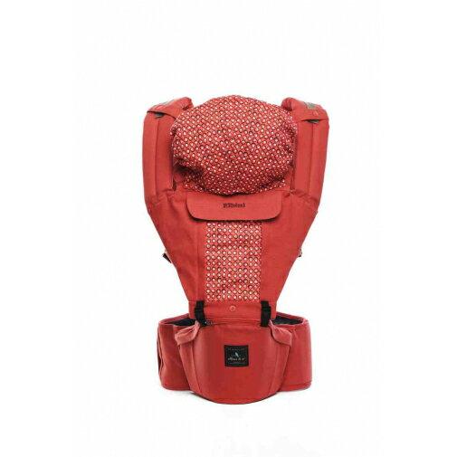 Elbini & co優寶兒 - 多功能嬰兒坐墊式背巾 (紅色) 韓國原裝進口 0