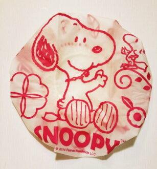 【真愛日本】15081200087 浴帽-SN花朵 史努比 Snoopy 浴帽 生活用品 衛浴用品