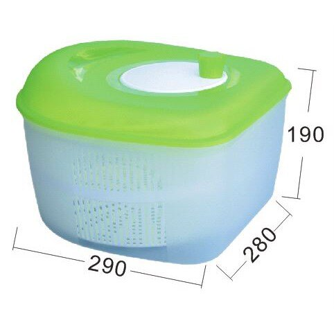 廚房幫手~P9108 P9-108 沙拉蔬果脫水器(8L)【139百貨】