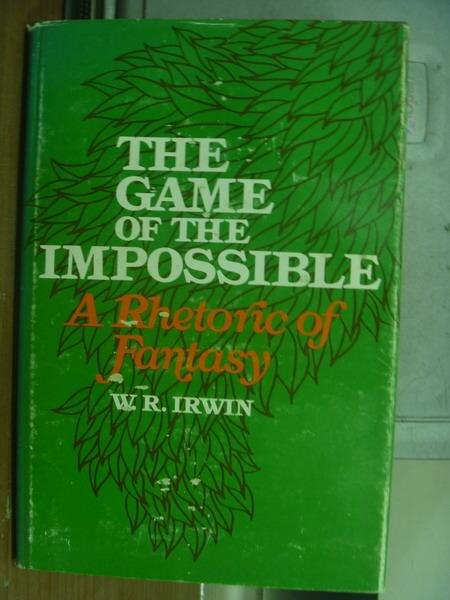 ~書寶 書T9/原文小說_PAN~The game of the impossible..