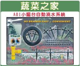 A01小陽台自動澆水系統