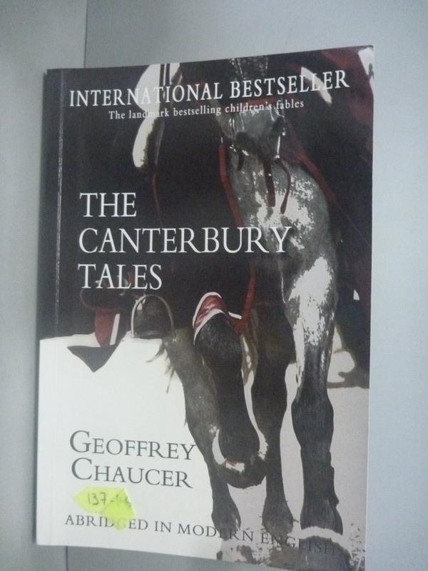 ~書寶 書T8/語言學習_HOJ~The Canterbury Tales: Abridg