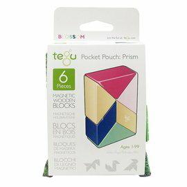 【淘氣寶寶】美國 TEGU 磁性積木6件組-粉色系