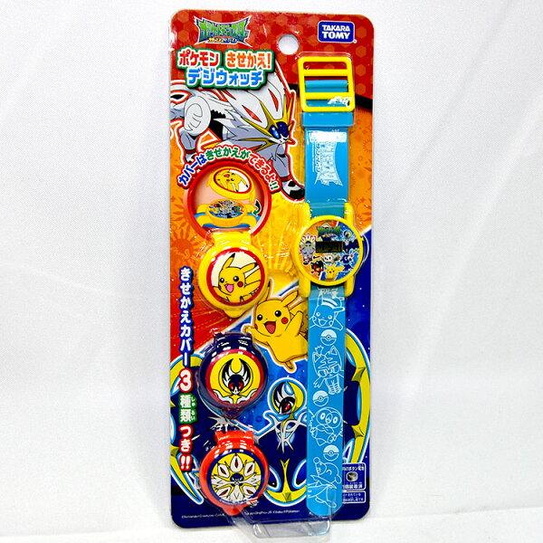 NOBA 不只是禮品:神奇寶貝皮卡丘兒童電子手錶日本TAKARATOMY正版精靈寶可夢